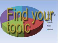 blog topic